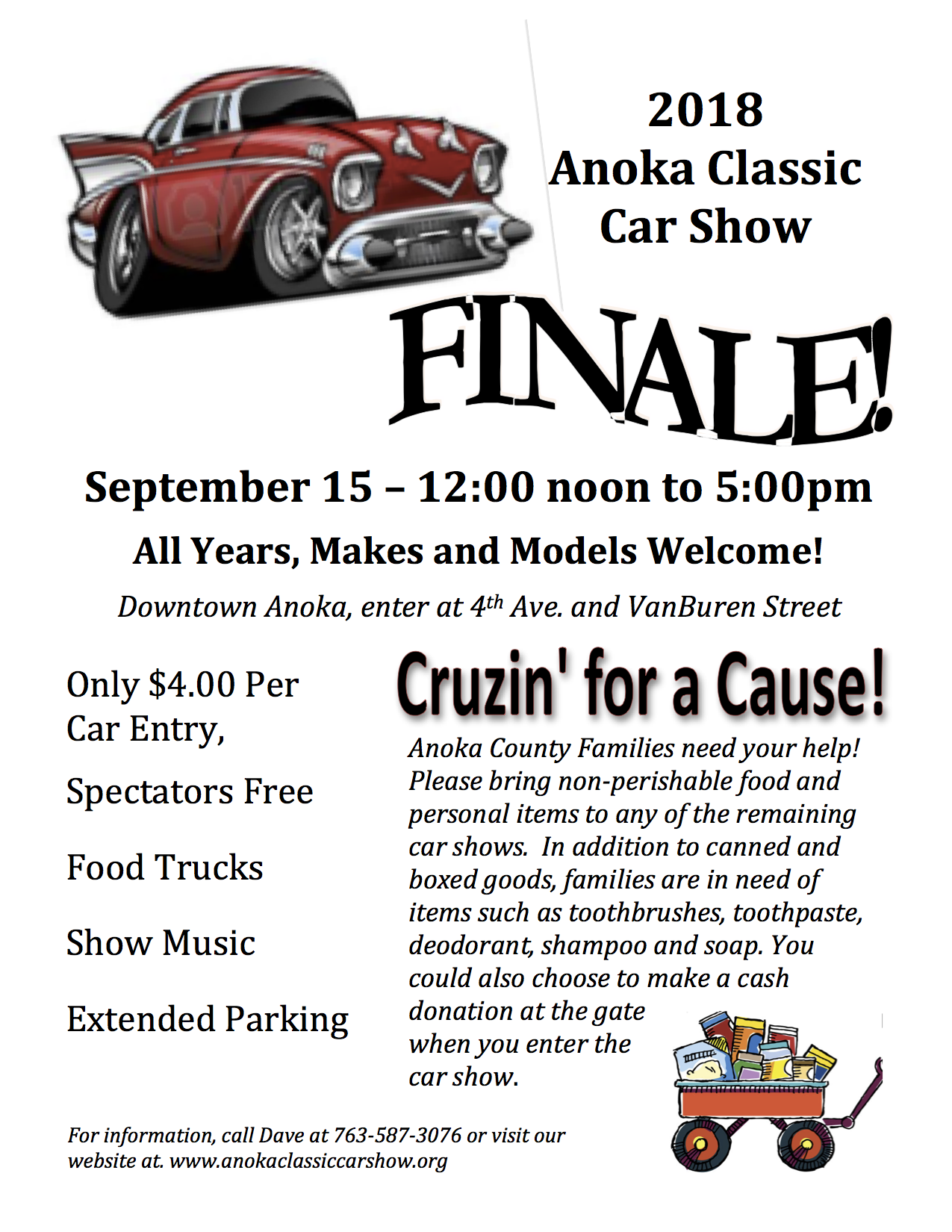 Anoka Classic Car ShowWelcome Page - Classic car show today